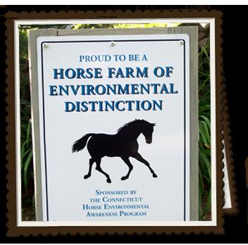 Connecticut Horse Farm of Environmental Distinction